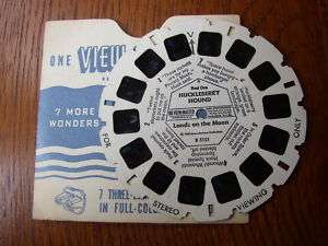 HUCKLEBERRY HOUND VIEW MASTER REEL
