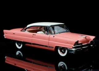 Lincoln Premiere Coupe Diecast 124 Scale Coral w/FREE Display