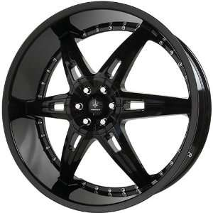 VERDE WHEELS ALLUSION GLOSS BLACK 6X5.5 +18   22X9.5