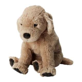 Ikea Gosig Golden Retriever Soft Plush Puppy Dog Toy 16 NEW