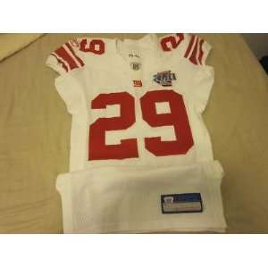 2006 New York Giants NFL Game Issued Super Bowl Jersey Sam