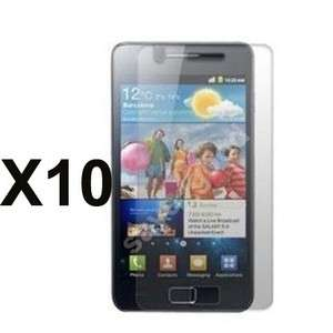 10X Clear Screen Protector For Samsung Galaxy SII i9100