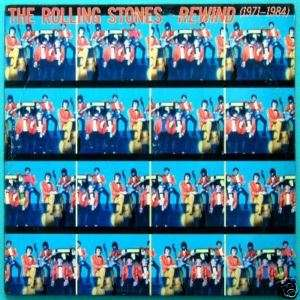 LP THE ROLLING STONES REWIND ROCK PSYCH FOLK 84 BRAZIL