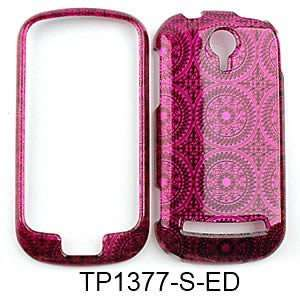 CELL PHONE CASE COVER FOR LG QUANTUM C900 TRANS HOT PINK