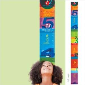 WallCandy Arts Watch Me Grow Growth Chart Wall Decal