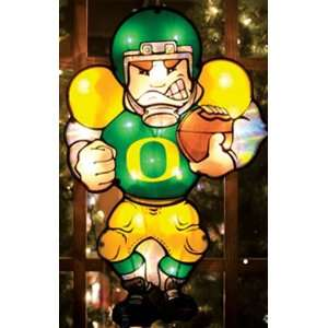 9 NCAA Oregon Ducks Lighted Football Player Car Window