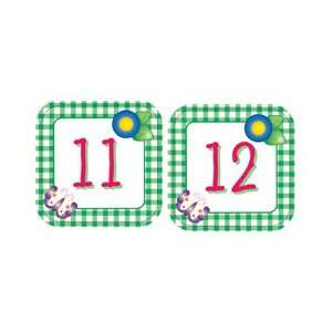 CREATIVE TEACHING PRESS CALENDAR DAYS GINGHAM JUNE