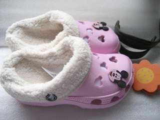 CROC Mickey Mouse Mammoth Boys Girls Shoes Warm