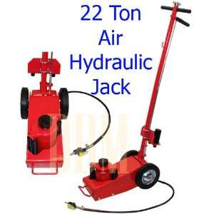 22 Ton Air Hydraulic Jack Car Van Bus Truck Trailer Floor Lift
