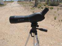 Meade 20 60X60MM Waterproof Zoom Spotting Scope, tripod, case. hunting