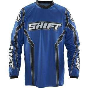 Shift Racing Assault Jersey   Large/Blue Automotive