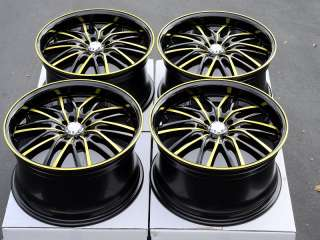 18 Effect Wheels Rims Lexus IS250 Protege Tribute Eclipse Lancer Juke