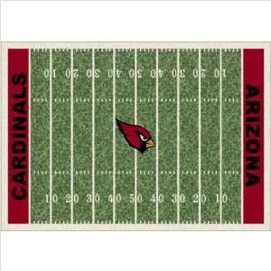 Milliken NFL Homefield Arizona Cardinals Football Rug   533321/1003