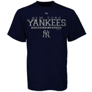 Majestic New York Yankees Navy Blue Supreme T shirt