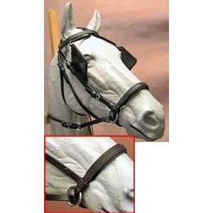 Bitless Beta Driving Headstall Bridle Draft  Sports