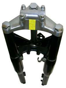 Suzuki K10 Hydraulic forks mini chopper motorcycle bike