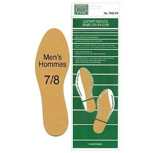 Leather Insoles   Mens 7/8