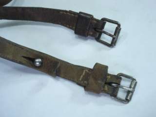WWI 1916 IMPERIAL GERMAN CANVAS ZELTBAHN w/STRAPS RARE