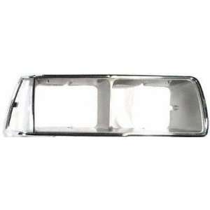 86 FORD THUNDERBIRD t bird HEADLIGHT DOOR RH (PASSENGER SIDE), Chrome