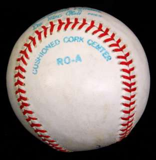 DiMAGGIO SIGNED AUTOGRAPHED OAL BASEBALL BALL PSA/DNA #Q05444