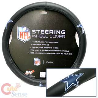 NFL Dallas Cowboys Car / Truck Steering Wheel Cover