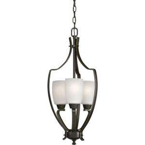 Progress Lighting Wisten Collection Antique Bronze 3 Light Chandelier