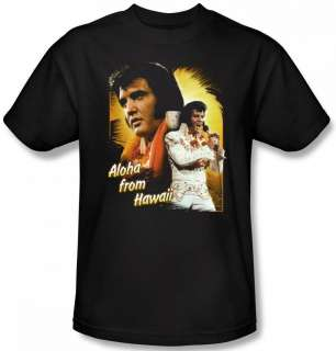 Men Women Kid Youth SIZE Elvis Presley Aloha From Hawaii Concert T