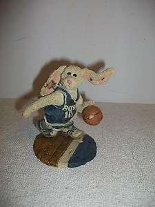 Boyds Bears & Friends BuzzThe Flash   Bunny Basketball Player NIB