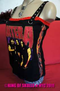 SALE] PANTERA *DIY* HEAVY METAL ROCK TANK TOP SHIRT SIZE M
