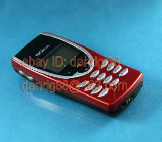 Nokia 8210 GSM Mobile Cell Phone DualBand Unlocked Red