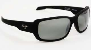 Maui Jim HAMOA BEACH Black w/ Neutral Grey 226 2M NEW