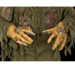 Halloween Costumes Jason Deluxe Latex Hands Adult