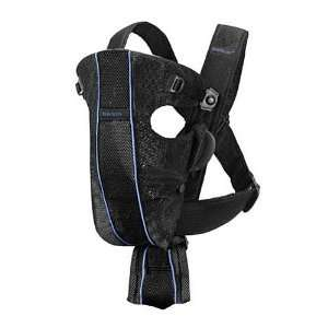 BABYBJÖRN 029016US Air Baby Carrier Black Baby