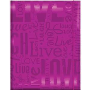 MCS 100 Pocket Big Max Embossed Live Laugh Love Album
