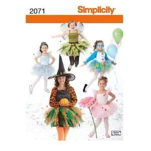 Simplicity Sewing Pattern 2071 Childs and Girls Costumes