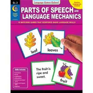 Creative Teaching Press CTP6372 Parts Of Speech And Language Toys