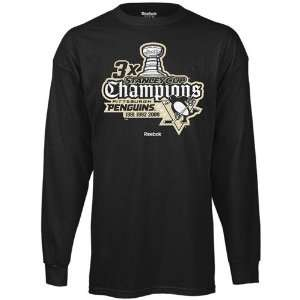 Time Stanly Cup Champions Patch Long Sleeve T shirt