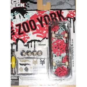 Tech Deck Single Board Zoo York Multi color board Toys & Games