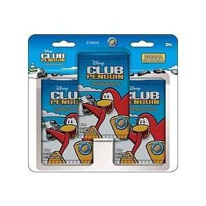 Disney Club Penguin Trading Cards Blister 3 pack Toys