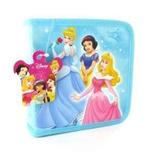 Disney Princesses Sky Blue CD/DVD Case Holder Electronics