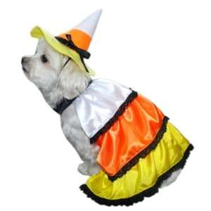 Anit Accessories Candy Corn Dog Costume, 16 Inch