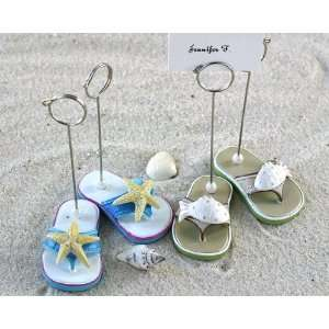 Beachcombers Flip Flop Place card Holders   Set of 4 (2 pairs)   Baby