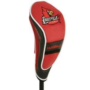 NCAA Louisville Cardinals Red Hybrid Golf Club Headcover