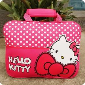 Hello Kitty Hot Pink Canvas Computer Bag Holder KT2344.