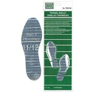 Thermal Insoles   Mens 11/12