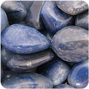 BLUE QUARTZ   Tumbled Stones 5 MEDIUM Crystals Health