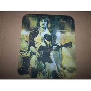 KEITH RICHARDS 70s Shot COMPUTER MOUSE PAD Rolling Stones