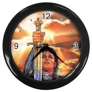 Michael the Warrior, Michael Jackson Collectible Art Wall Clock