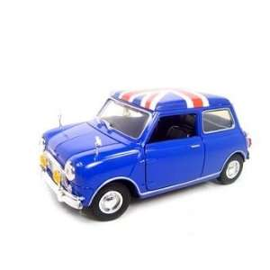 OLD MINI COOPER BLUE RHD 118 DIECAST MODEL Toys & Games
