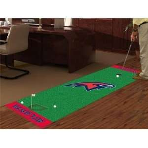 Atlanta Hawks Golf Putting Green Runner Area Rug